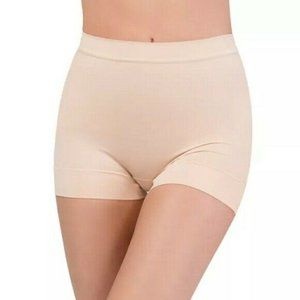 NEW Spanx Assets Seamless Shaping Shorts Nude Tan